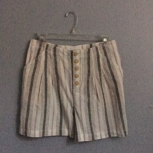 Anthropologie Shorts - Anthropologie Linen Shorts